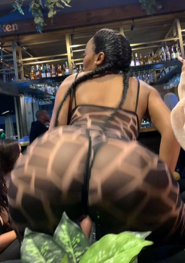 B00TYlicious actress Tebogo Thobejane breaks the internet with her twerk!ng video