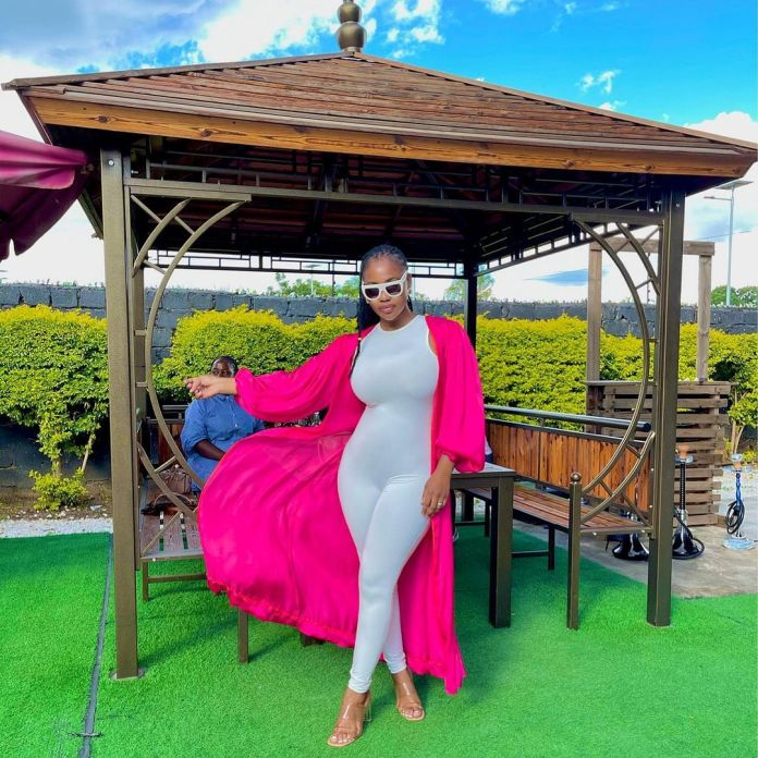 Cleo Ice Queen shows off her curves in a white tight Jumpsuit – Photos