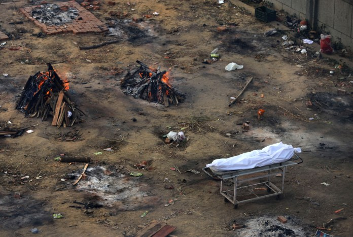 India runs out of space to cremate Covid-19 victims