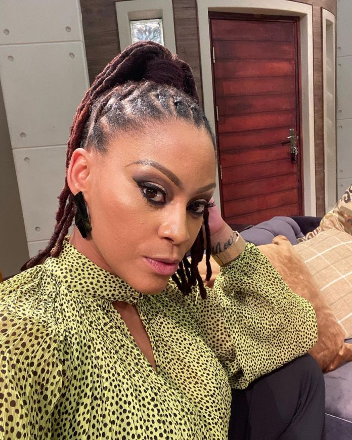 Actress Letoya Makhene begs wife Lebo to come back with n@ked photos