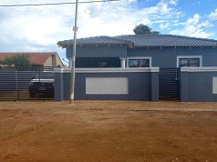 Ntando Duma over the moon as her mom house she is building is almost done