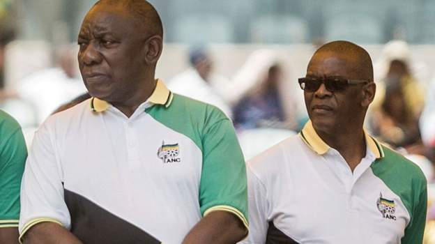 South Africa's president sued by ANC rival