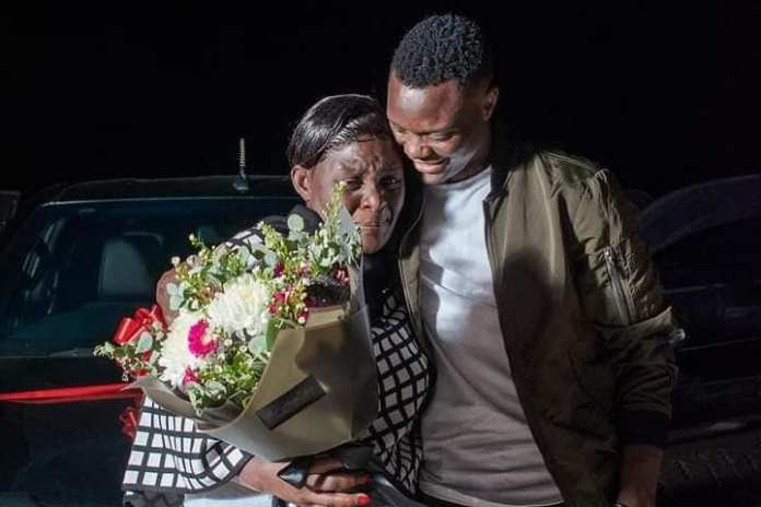 Patson Daka buys his mom another car for her birthday – Pictures