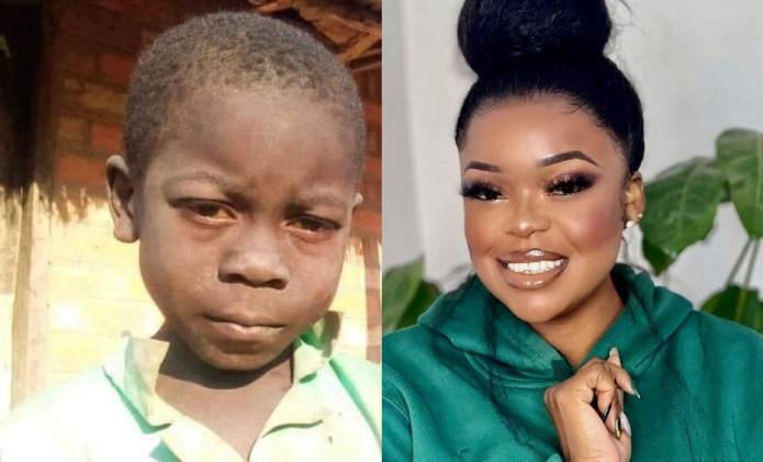 Video: Mampi's version of young Joachim aka the onion boy leaves social media in stitches