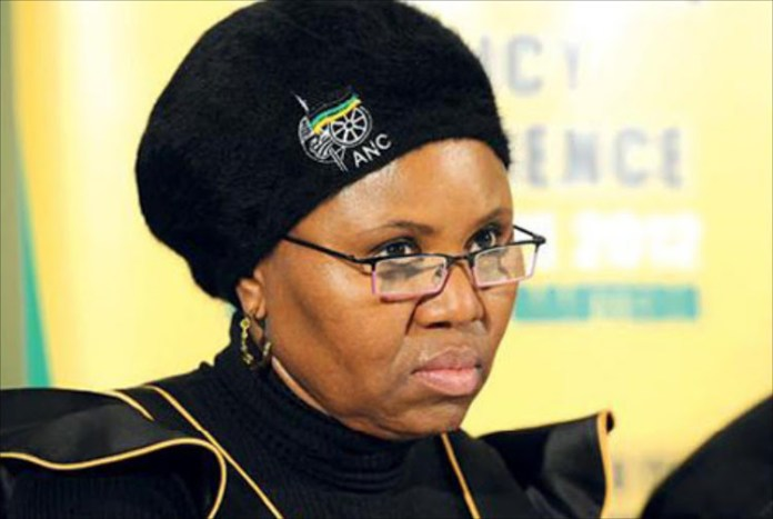 Photo of Minister Lindiwe Zulu allegedly watching p0rn goes viral