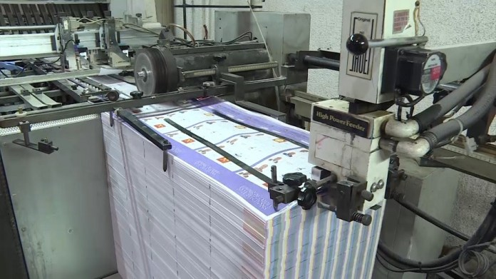 Printing of Presidential ballots complete