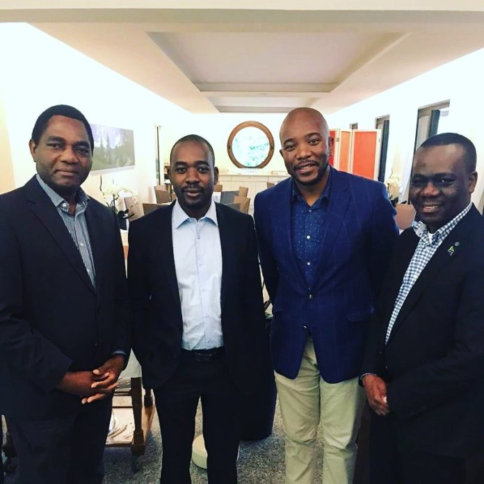 HH inspires African opposition leaders