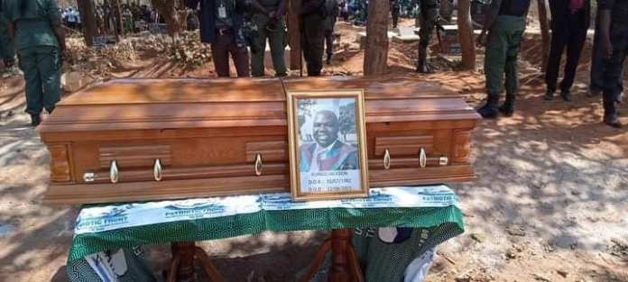 Murdered PF chairperson Jackson Kungo laid to rest
