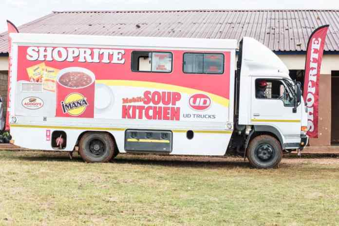 Shoprite Mobile Soup Kitchen serves Covid-19 frontline workers