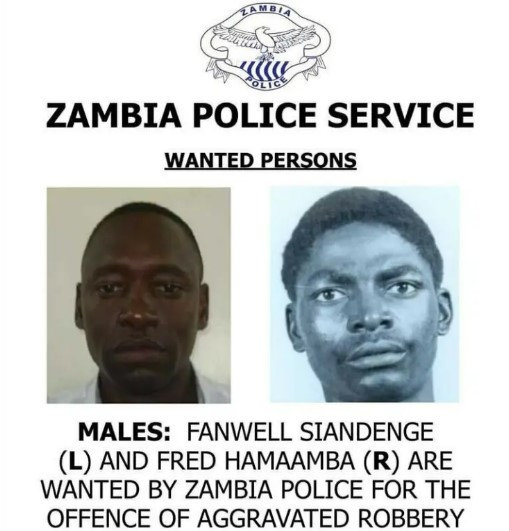 Newly appointed Inspector General of Police for Special Duties Fanwell Siandenge Still has robbery charges pending
