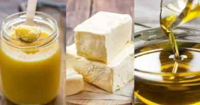 Ghee, Butter or Olive Oil: Find Out Which is Healthier and Better for Weight Loss