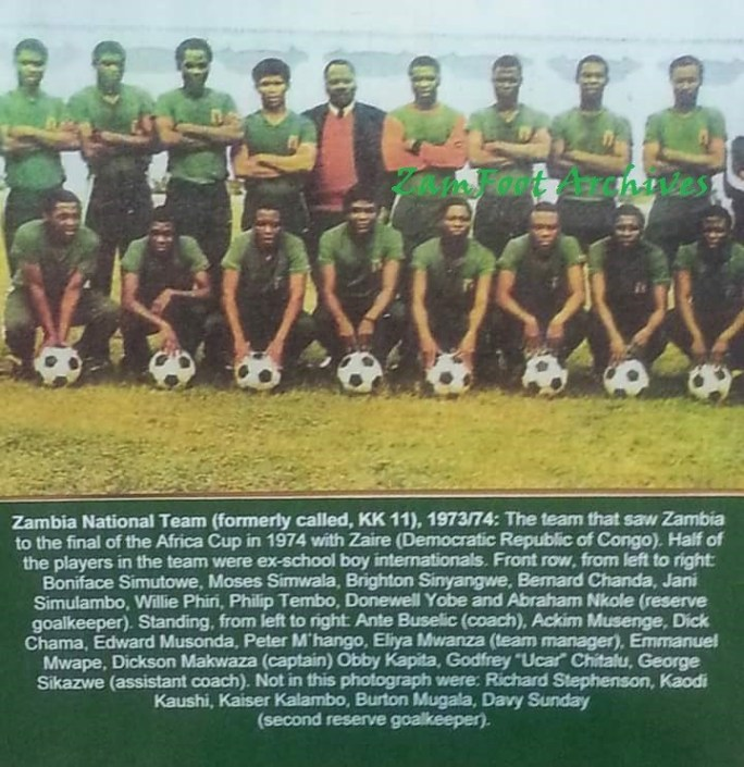 Archives Zambia-1974-Squad