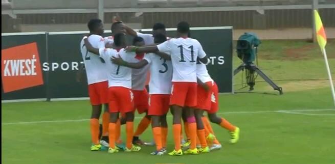 Cosafa U20: Zambia 5 - 1 Zimbabwe  (As it happened)
