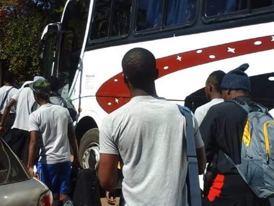 Warriors set base in Kitwe ahead of 4-team tourney