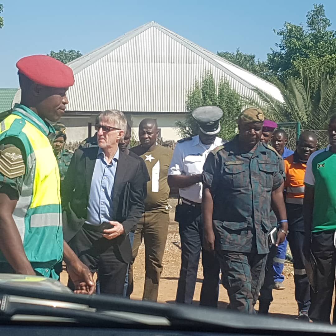 CAF inspect new Green Eagles' home ground