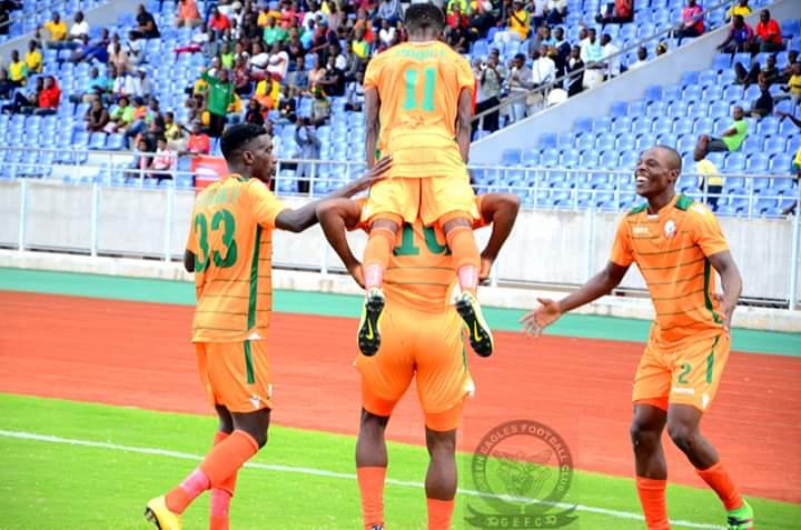 Eagles white-wash Nkana in five goal thriller at Chilata