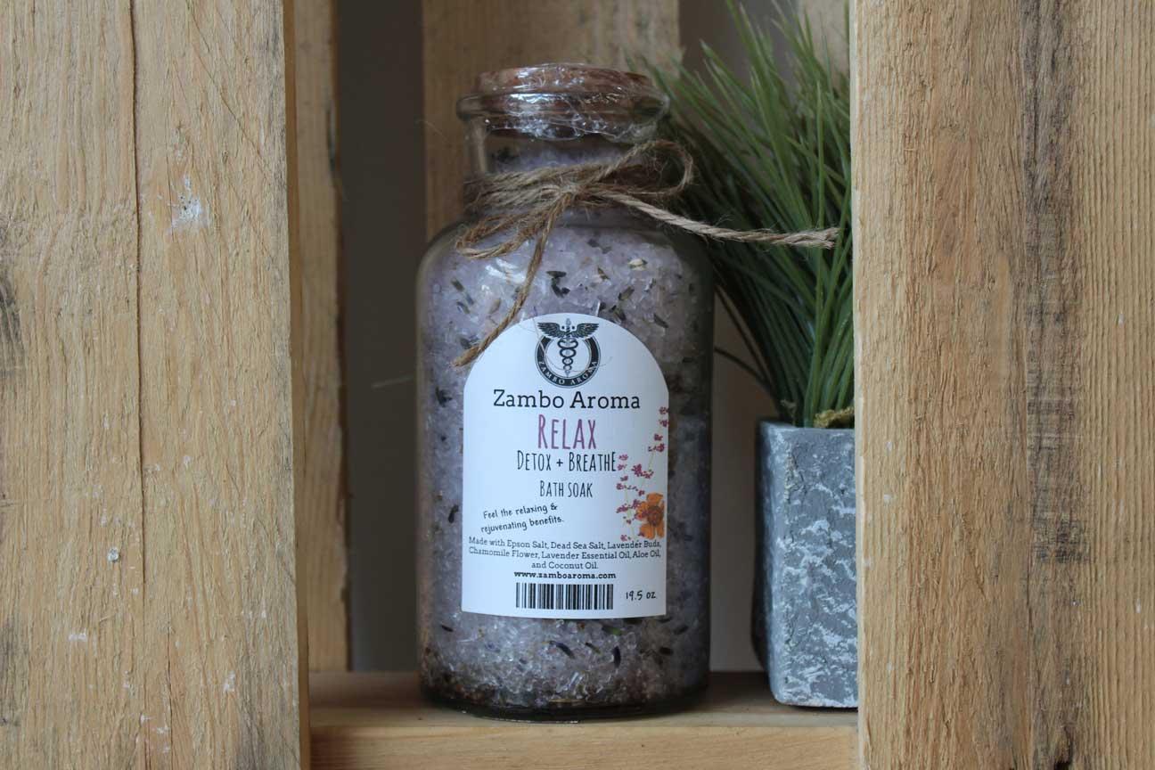 Relax Bath Salt - Zambo Aroma