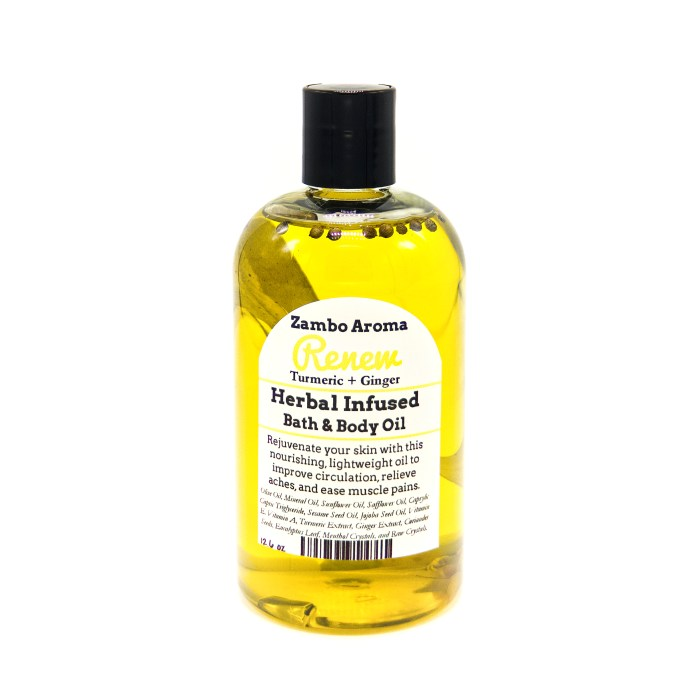 renew body oil