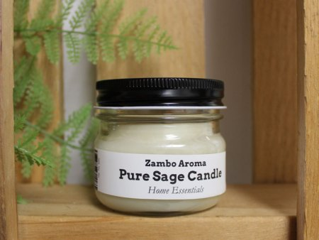 pure sage candle