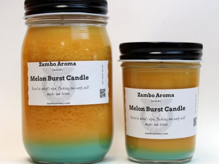melon burst candles