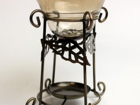 bronze oil burner