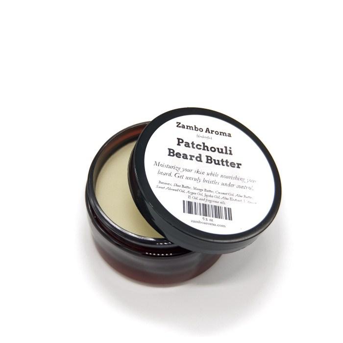 patchouli beard butter