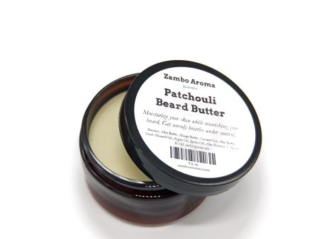patchouli beard butter