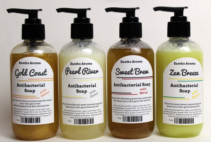 antibacterial soap collection