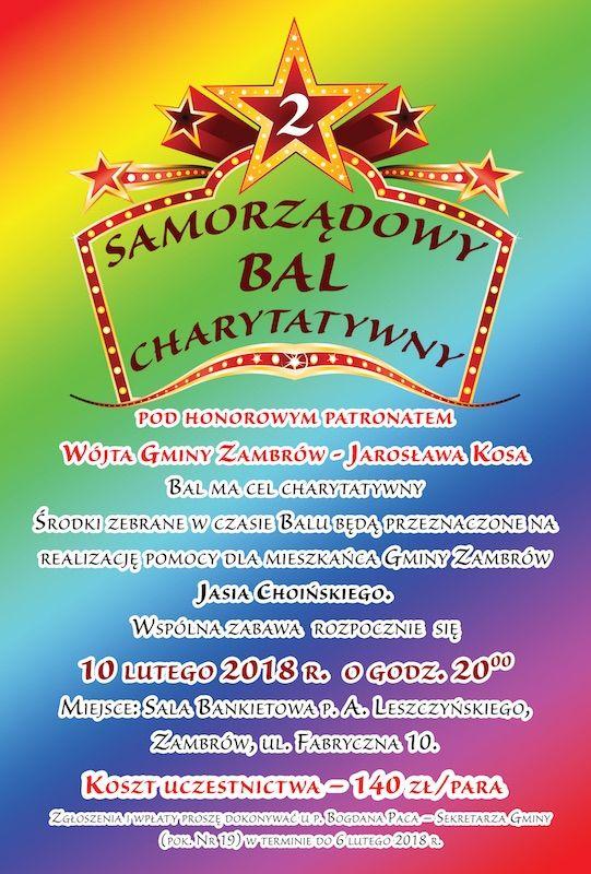 Bal Charytatywny Zambrowiacypl
