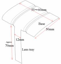 Water lens microscope