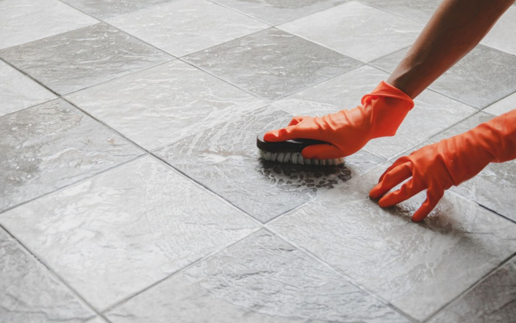 tips to remove cement stains from tiles