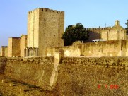 Castle walls of Elvas Portugal