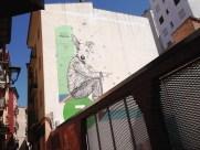 Zaragoza Spain Wall Art - back streets