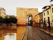 Portal in Granada Spain