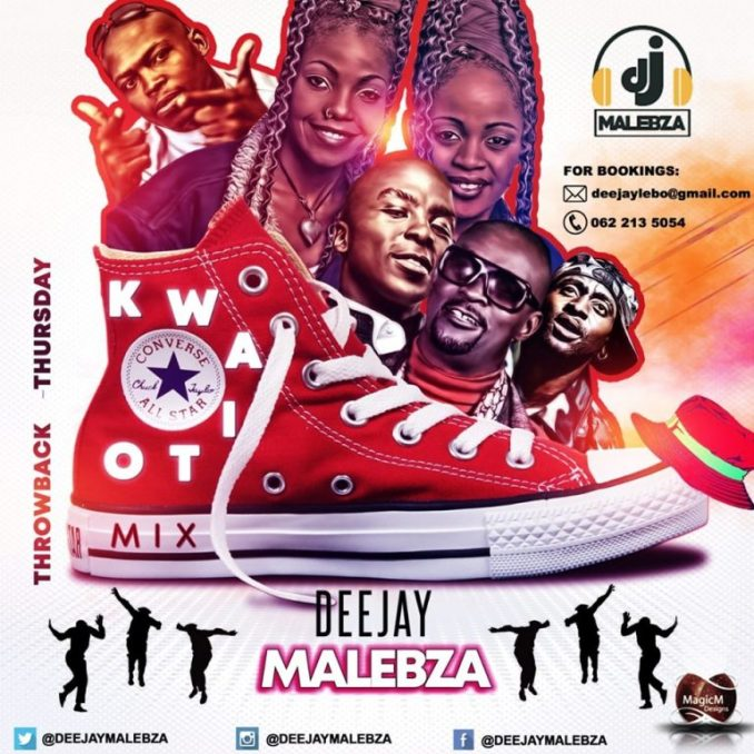 Dj Malebza ThrowBack Thursday Kwaito Edition mp3 download zamusic 768x768 - Dj Malebza – ThrowBack Thursday Kwaito Edition