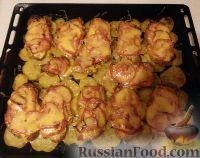 Foto till receptet: Franskt kött med bakade potatis
