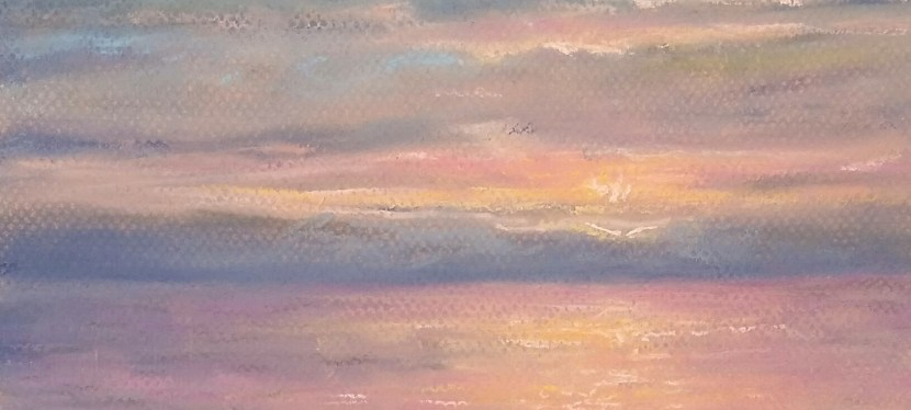 Pastel Arcadia Sunset