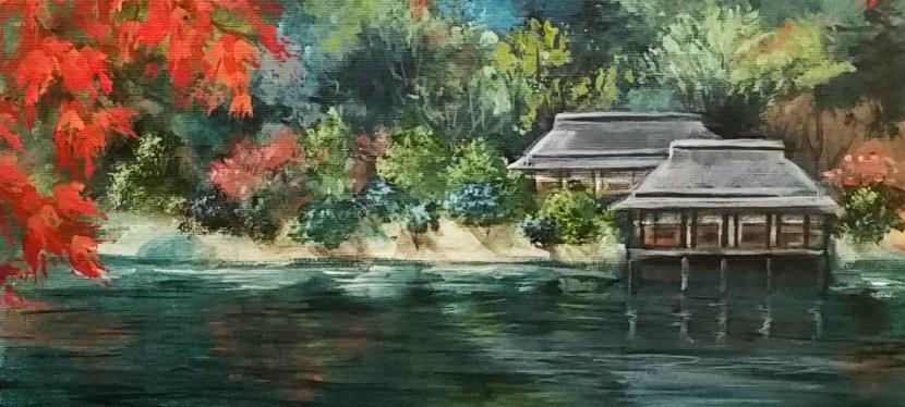 Acrylic Asian Fall