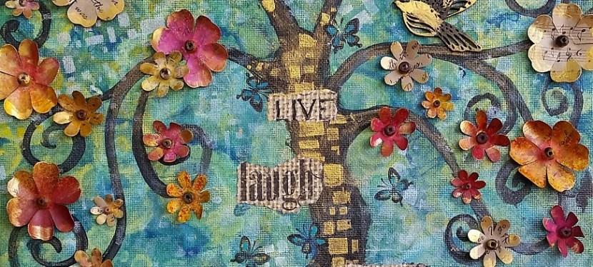 Mixed Media Tree of Life