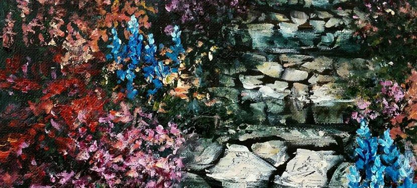 Acrylic Garden Path