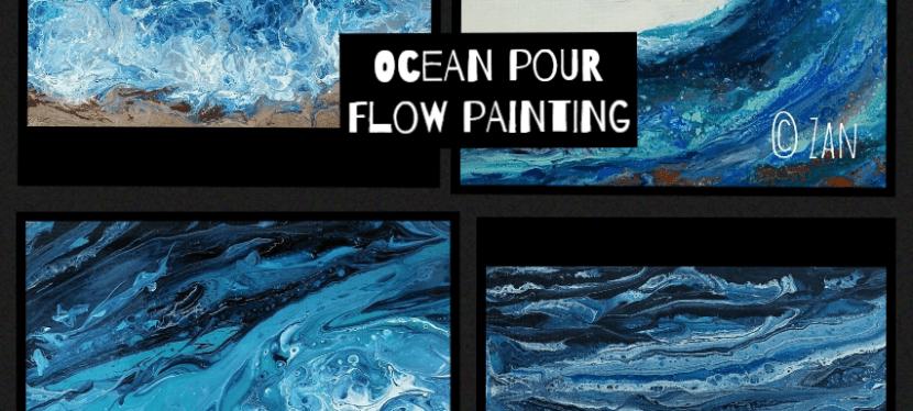 Flow Ocean Waves Pour