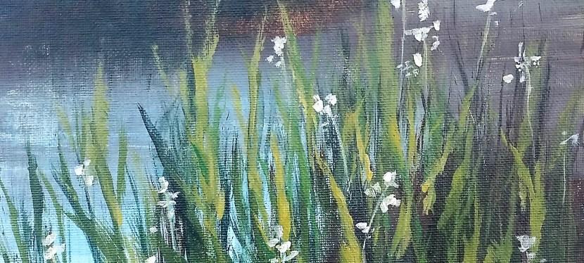 Acrylic Portofino Pond