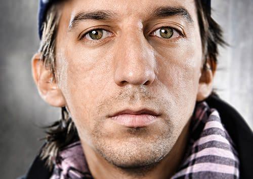 Retrato de Matías Bize por Javier Lewin