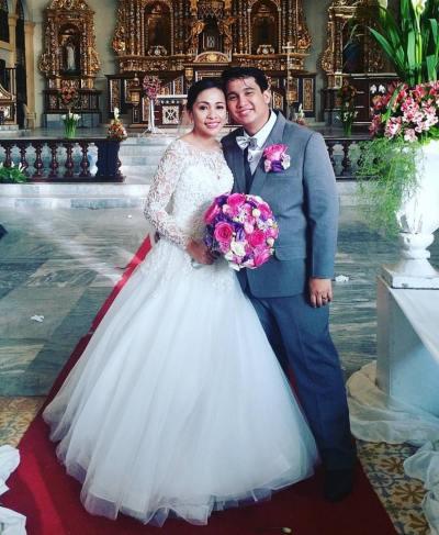 Bride Sarah and Gerald