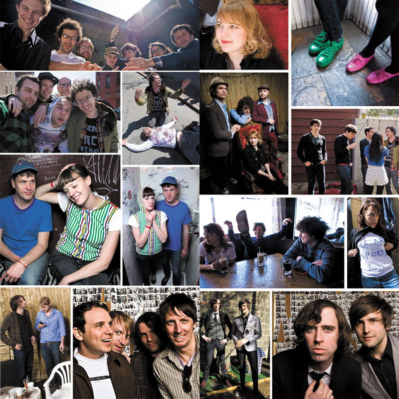 L Magazine Eight Bands You Need To Hear 2008.  Photos by Zandy Mangold