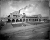Fred Harvey's Hotel Castañeda, Las Vegas, New Mexico;  Western History/Genealogy Department, Denver Public Library.