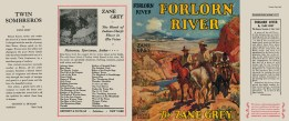 Forlorn River - complete dust jacket