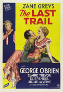 The Last Trail - 1933 film poster