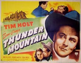 Thunder Mountain - 1947 - Tim Holt