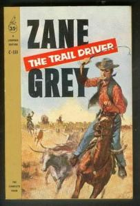 The Trail Driver, New York, Cardinal/Pocket Books, 1959